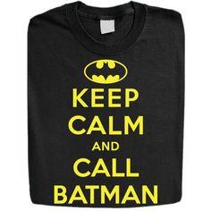 Amazon.com: Stabilitees Funny Keep Calm and Call Batman Womens T Shirts: Clothing
