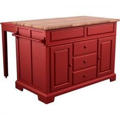 Saw a red kitchen island (table) yesterday and now I really want one!