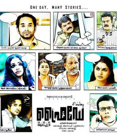 Friday is a 2012Malayalamdrama thriller film directed byLijin Joseand starring Manu,Fahadh Faasil,andAnn Augustine.