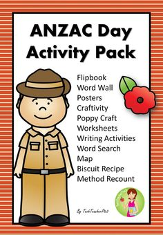 ANZAC Day Activity Pack - Classroom Commemoration Activities