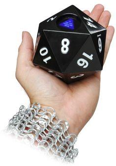 WANT! Magic d20 of Destiny #D20 #dice