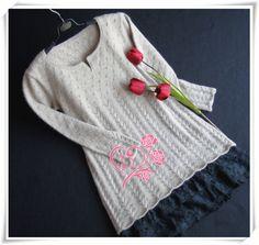 麦穗--中长裙式还是美美的 - 小凡 - 小凡编织小屋