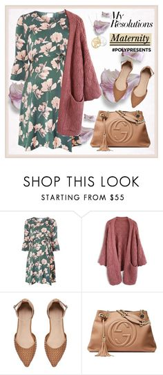 """""""#PolyPresents: New Year's Resolutions"""" by krista-zou on Polyvore featuring Dorothy Perkins, Chicwish, Witchery and Gucci"""