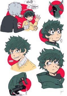 Yan-li Art Boku No Academia, My Hero Academia Memes, Buko No Hero Academia, Hero Academia Characters, My Hero Academia Manga, Fictional Characters, Villain Deku, Doodle, Precious Children