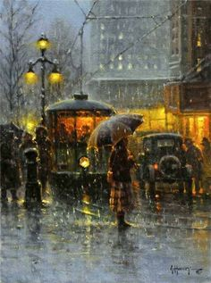 Gerald Harvey Jones [1933] present day American Impressionist