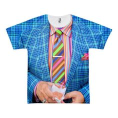 Rainbow Suit Guy T-Shirt