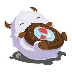 League of Legends - Poro by notCecil on DeviantArt