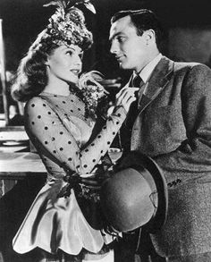 Rita Hayworth and Gene Kelly in Cover Girl <3