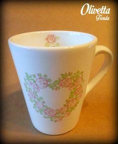 """Jarro """"Romantic"""" Mugs, Tableware, Dinnerware, Cups, Tumbler, Dishes, Mug, Serveware"""