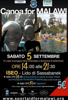 Canoa for Malawi a Iseo http://www.panesalamina.com/2015/40753-canoa-for-malawi-a-iseo.html