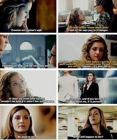 Character Analysis   Delphine Cormier ghost : hella shady Flaw : hella shady - suppose to be doing assignments - #orphanblack