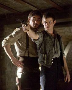 Penny Dreadful, Harry Treadaway as Victor Frankenstein & Josh Hartnett as Ethan Chandler