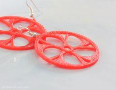 Deez 3d printed earrings | Layerfied Designs