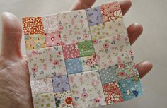 @ himiko - sweet tiny blocks for a doll quilt ♥