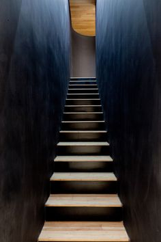 Image 4 of 16 from gallery of EMG Shanghai Design Centre / O-OFFICE Architects. Photograph by Likyfoto Amazing Architecture, Architecture Details, Interior Architecture, Black Architecture, Interior Stairs, Interior And Exterior, Shanghai, Escalier Design, Balustrades