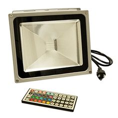eTopLighting LEFRGB30CP 30watt AC 95260volt RGB Led Color Changing Flood Light with Remote Controller -- Check out this great product.