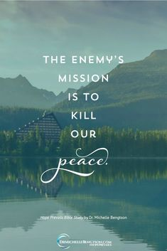 Anxiety, shame, and distortion of our view of ourselves are all tools utilized by the biggest liar to roam the earth. They are not from God. Nor are they consistent with God's truth. And they steal our peace.  #HopePrevailsBibleStudy #depressionquotes  #mentalhealth