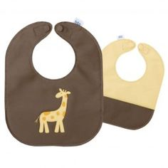 G is for Giraffe.  One of our most popular #MallyBib styles.