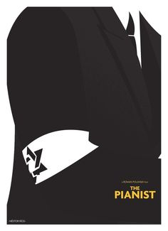 alternate 'The Pianist' movie poster by nestor rios, via Behance