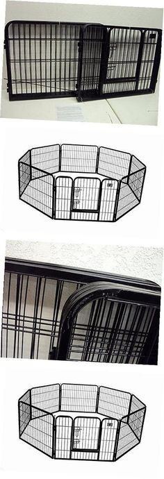 Fences and Exercise Pens 20748 Outdoor Dog Kennel Large Covered Pet
