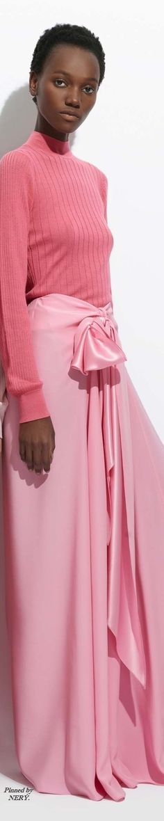 TOME - Resort 2017. -. If you think the color pink is just too much babyish to be classified as sophisticated, think again!