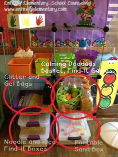 Entirely Elementary...School Counseling: Sensory Needs and Calming Doodads