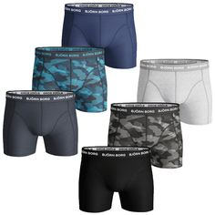 You'll be more than convinced as well, once you give these BB Shadeline Sammy Shorts a go. Soft cotton stretch material, classic mid rise cut, slightly longer legs and a Björn Borg signature waistband. Middle School Boys, Briefs Underwear, Camo Print, Cotton Shorts, Boxers, Bb, Trunks, Gym Shorts Womens, Playstation