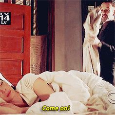 Time to get up! Greet Sherlock with a smile! ;)