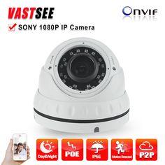 IP Camera POE 2MP 1080P Onvif2.4 Full HD sony 323 Indoor Vandalproof room Dome 36IR 2.8-12mm Night Vision cameras de seguranca #shoes, #jewelry, #women, #men, #hats, #watches, #belts