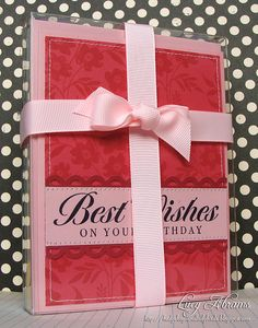 Birthday Card Set by Lucy Abrams, via Flickr