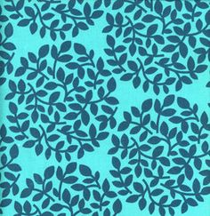 Park Slope by Erin McMorris 1/2 yard Leaf dot in Teal. $5.99, via Etsy.