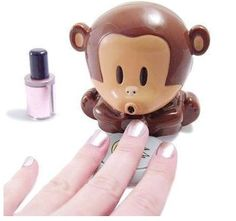 Monkey Design Nail Dryer
