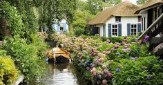 This Village Without Roads Is Straight Out Of A Fairytale Book | Bored Panda giethorn, nl