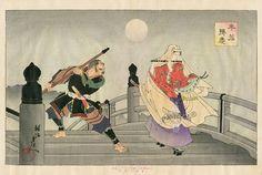 Toyohara Chikanobu Woodblock Prints