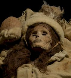 "She is 3,800 years old, but she still turns heads. The mummified remains of a Caucasian woman, found along the Silk Road in western China, will be part of an exhibit ""Secrets of the Silk Road: Mystery Mummies of China,"""