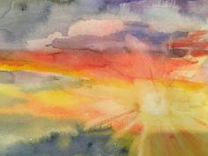 Original watercolor by Ulli