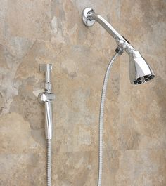 Aquaus 360° Hand Held Bidet for Shower w/ Stainless Steel Hose - 3 Year Warranty - (ABS-360) - RinseWorks