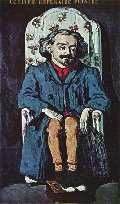 """""""Achille emperaire"""", olio su tela, Parigi, Musée d'Orsay, 1867-1868."""