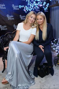 Who needs him: Gigi Hadid left Cody Simpson at home and took his sister, Alli, (pictured) ...
