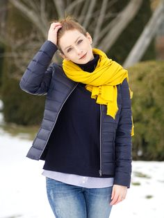 diy-stirnband-naehen-espri Hair Band, Winter Jackets, Vest, Sewing, Handmade, Fashion, Diy Sewing Projects, Headboard Cover, Sewing Patterns