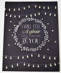 """The Way You Look Tonight"" quote art print // love background not the quote so much"