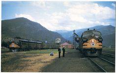 Northern Pacific Railroad North Coast Train 1975 Vanishing Vistas Postcard | eBay