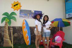 Nuestras edecanes también disfrutaron del verano en TransExpress