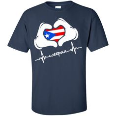 Does your heart beat Weepaa for Puerto Rico? This is definitely a must have! The perfect GIFT for a Boricua Not Sold in Stores! Ships within 3 business days. Estimated delivery within 6-9 business day