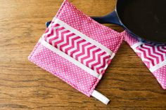 Easy and Cute Sewn Pot Holder