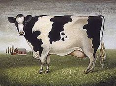 "The Artwork of Lowell Herrero  ""Classic Cow"""