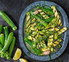 Try our marinated courgettes, a healthy vegan side dish to have with your midweek meal. Super quick and easy, this courgette dish is also gluten free.