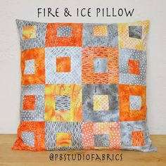 Freeform 2: Fire & Ice Pillow Tutorial