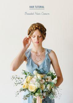Hair Tutorial - Braided Hair Crown