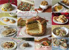 ANTIPASTI DI NATALE 2016 PIU' DI 20 RICETTE FACILI E SFIZIOSE #natale #antipasti #ricette #natalizi #feste #capodanno #vigilia #christmas #xmas #recipes #starter #buffet #ilchiccodimais http://blog.giallozafferano.it/ilchiccodimais/antipasti-di-natale-2016/